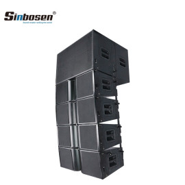 Sinbosen dual 10 inch 18 inch bass big speaker sound system line array KA210+ KA218
