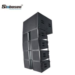 Sinbosen dual 10 inch 18 inch bass big speaker sound system line array KA210+ KA218