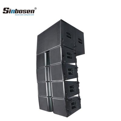 Sinbosen dual 10 pulgadas 18 pulgadas bajo altavoz grande sistema de sonido line array KA210 + KA218