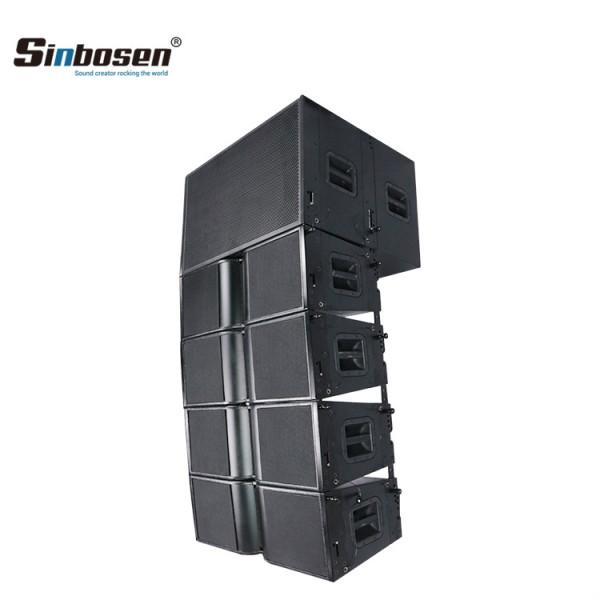 Matrice doppia Sinbosen da 10 pollici da 18 pollici per sistema audio di grandi dimensioni per altoparlanti KA210 + KA218