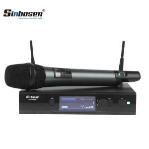 EWD1 Digital Handheld Mic wireless / trasmettitore ricaricabile per body pack Sistema wireless UHF