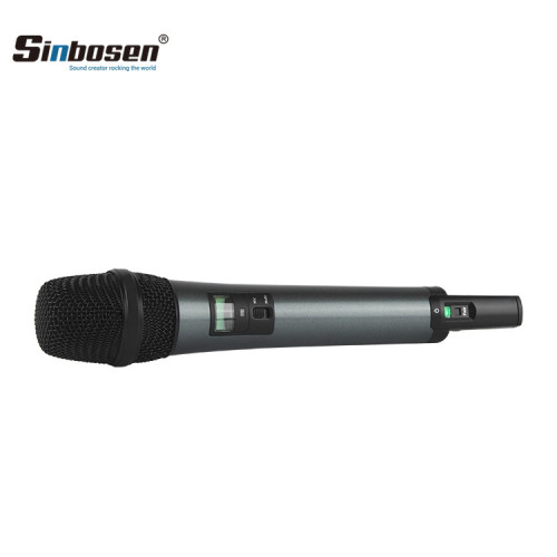 EWD1 Digitales drahtloses Handmikrofon / wiederaufladbares UHF-Funksystem für den Körperpacksender
