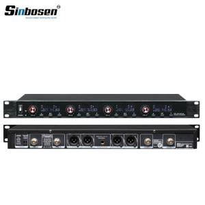 Sinbosen U-6004 4 Channels transmitter Meeting desktop Mics wireless conference system