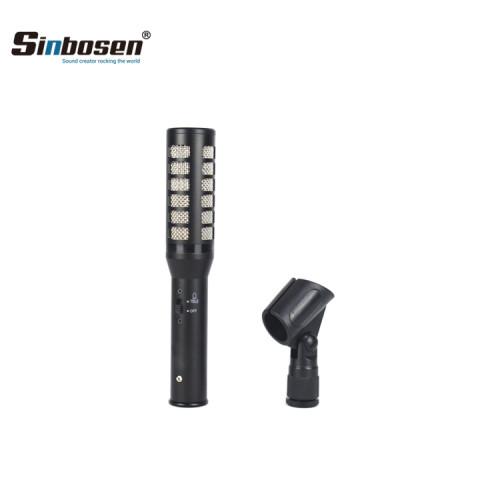 Condensador XLR Micrófono de micrófono de voz profesional para coro