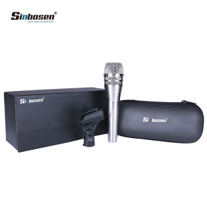 KSM8 Dynamic Handheld Vocal Microphone Nickel for recording