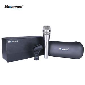 Sinbosen KSM8 Silver Dynamic Handheld Vocal Microphone for recording