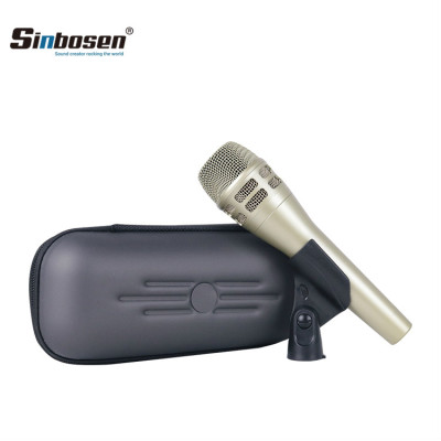 Sinbosen KSM8 Dynamic vocal microphone for recording (champagne)
