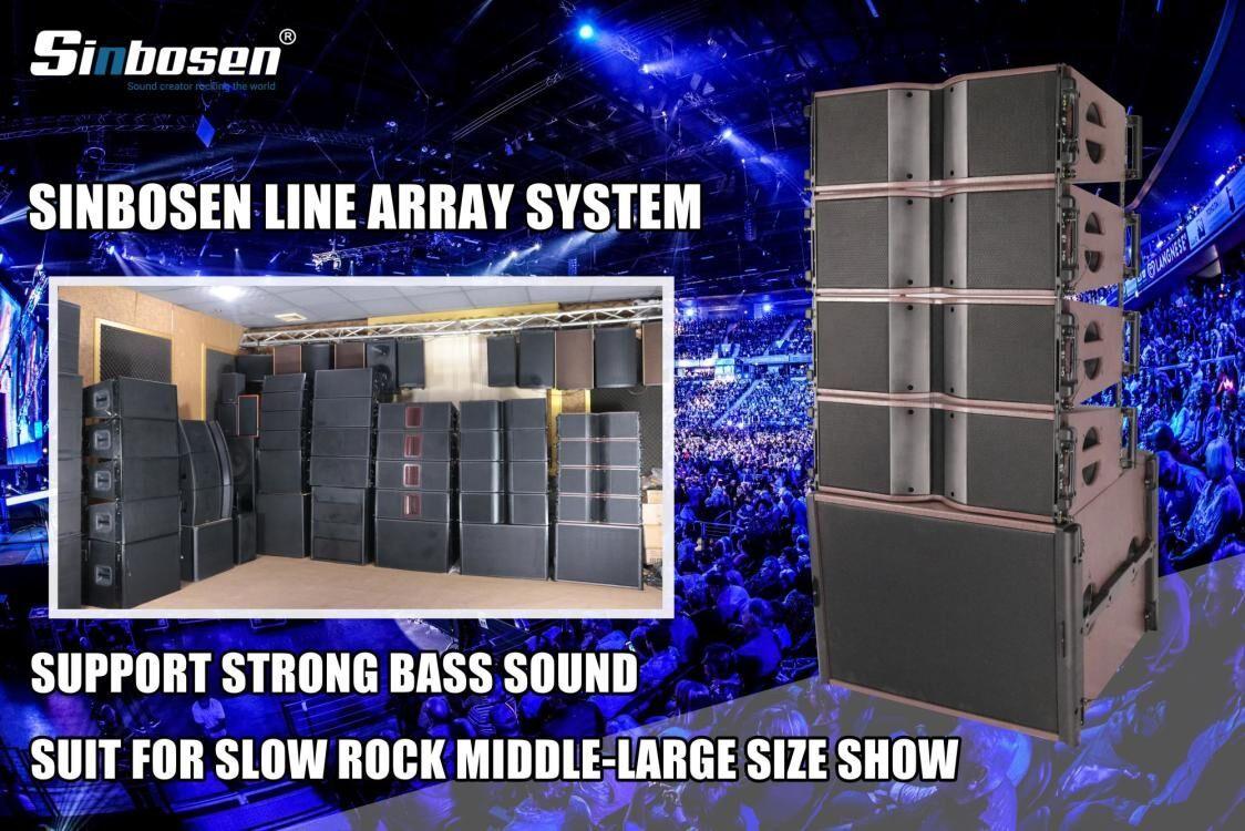 Fare clic per ottenere una maggiore selezione del sistema line array