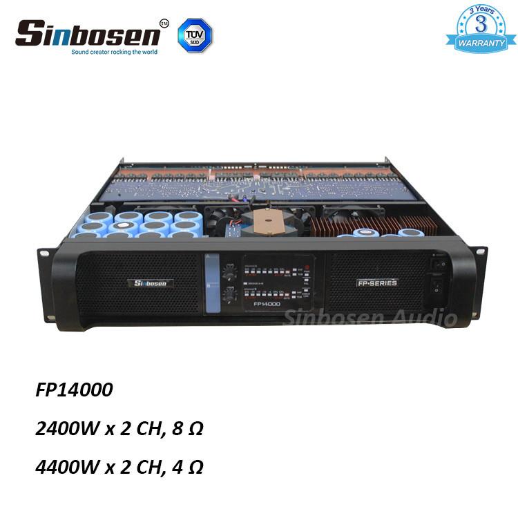 Amplificatore Sinbosen FP14000