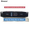Come pulire il filtro dell'aria dell'amplificatore Sinbosen?