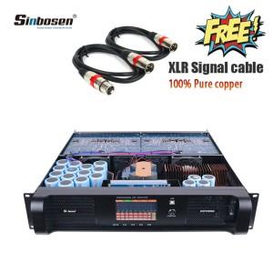 Sinbosen 2500 Watt X 4 DSP-Modul Subwoofer-Verstärker DSP22000Q