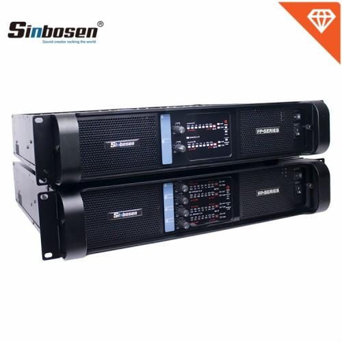 Venta caliente FP10000Q FP14000 Sistema de amplificador de potencia para Sub woofer y line array