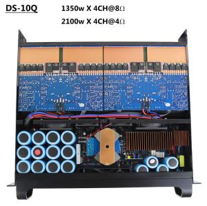 FP10000Q SR2050 3U Amplificador de potencia en sistema de auriculares con monitor de oído para monitor de escenario