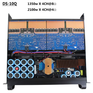 FP10000Q SR2050 3U Leistungsverstärker im Ohrmonitor-Kopfhörersystem für Bühnenmonitor