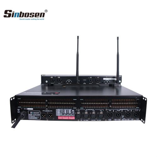 FP10000Q SR2050 Amplificatore di potenza 3U nel sistema auricolare per auricolari per monitor da palco