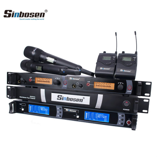 Etapa profesional Sistema inalámbrico Auriculares IEM monitor de distribución de antenas Micrófono PLL