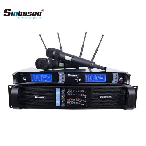 Sistema audio professionale FP10000Q SKM9000 per il canto dell'array line stage