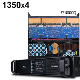 Sinbosen FP10000Q 4 channel professional power amplifier for dual 15 inch speaker