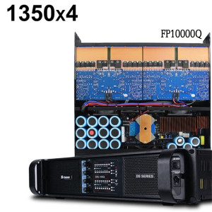 Sinbosen FP10000Q 4 channel professional power amplifier for dual 15 inch speaker