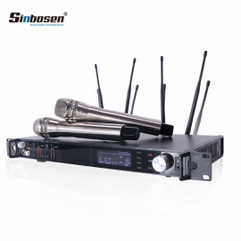 AD4D 150M 615-655MHz hareketli bobin FM kablosuz mikrofon
