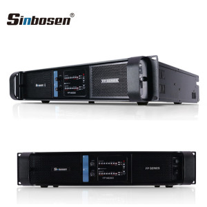 Sinbosen FP14000 4400w 2 channel high lab power amplifier for dual 18-inch bass