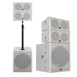 Mini line array Professional Sound System Double 5 inch coaxial Speaker Passive