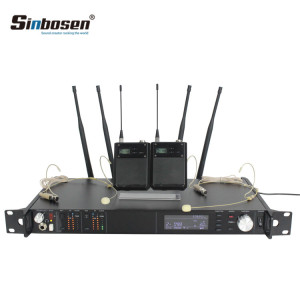 AD4D UHF Headphone Microphone Wireless transmitter belt pack Mic