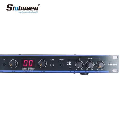 DSP 100 Effekt voreingestelltes professionelles Stromversorgungssystem