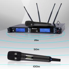 Sinbosen UHF Professional Handheld skm 9000 wireless microphone System