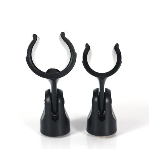 Soporte de clip de micrófono universal para micrófono para soporte de micrófono con adaptador macho de 5/8