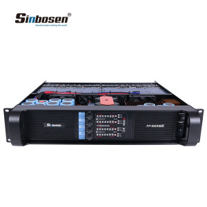 Sinbosen FP8000Q dual 1000 watt RMS 4 channel amp power amplifier