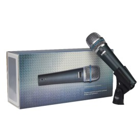 Supercardioid Dynamic Instrument Microphone beta 57a for studio recording