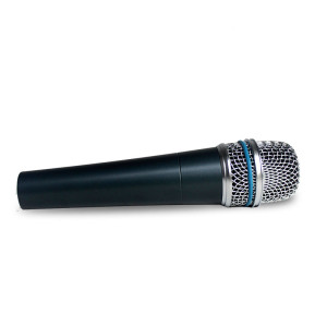 Micrófono de instrumento dinámico supercardioide beta 57a para grabación de estudio