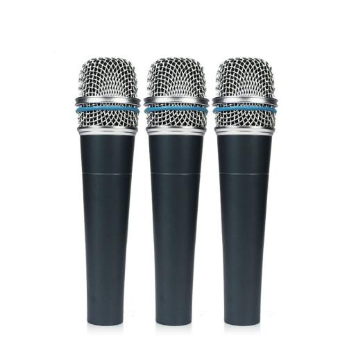Supercardioid Dynamic Instrument Microphone Beta 57a für Studioaufnahmen