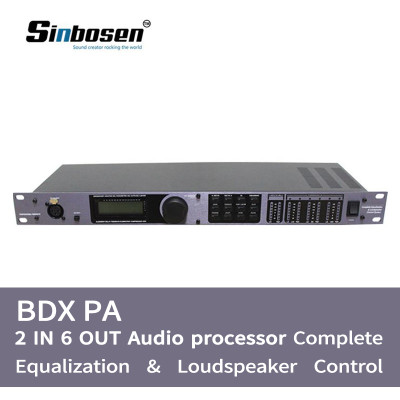 PA system digital processor Pro loudspeaker China digital audio dsp