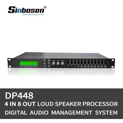 Dual precision 4 input 8 output DSP karaoke digital audio processor DP480 / DP448