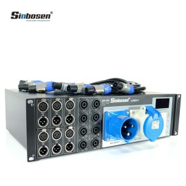 power controller distributor line speakers professional audio system equipment