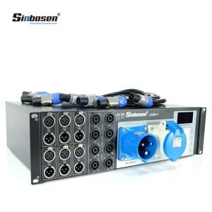 contrôleur de puissance distributeur ligne haut-parleurs équipement audio professionnel