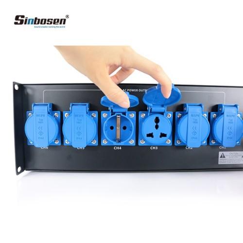 línea de distribución de controlador de potencia altavoces equipo de sistema de audio profesional