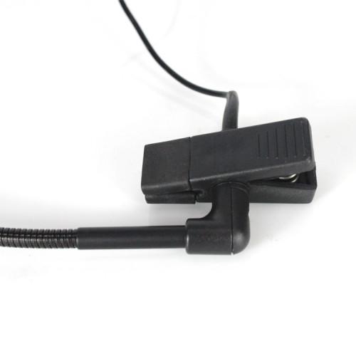 Kabelkondensator-Mikrofonclip mit Kondensator für Gitarrensaxophon