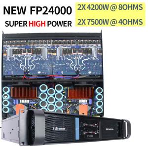 Sinbosen 4200 vatios super subwoofer amplificador de potencia DJ bass Gain FP24000