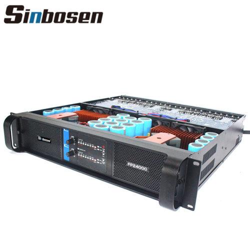 Sinbosen 4200 Watt Super Subwoofer Leistungsverstärker DJ Bass Gain FP24000