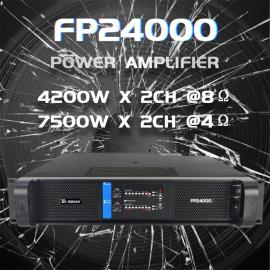 Sinbosen 4200 watt super subwoofer power amplifier DJ bass Gain FP24000