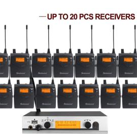 Professional EW300 G3 IEM Wireless Audio Monitoring In Ear monitor System