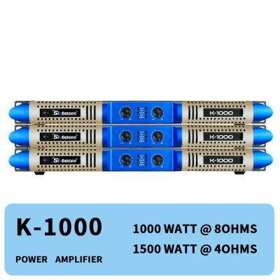 Private model new panel 2 channel 1000w class D digital K-1000 audio digital power amplifier