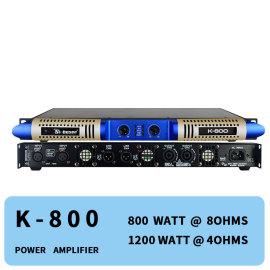 Class d digital ampliflier 800 watts 2 channel stereo professional audio K-800