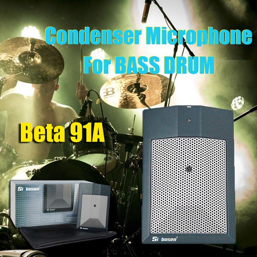Beta 91A Kondensator-Kickdrum-Mikrofon mit halber Nierencharakteristik