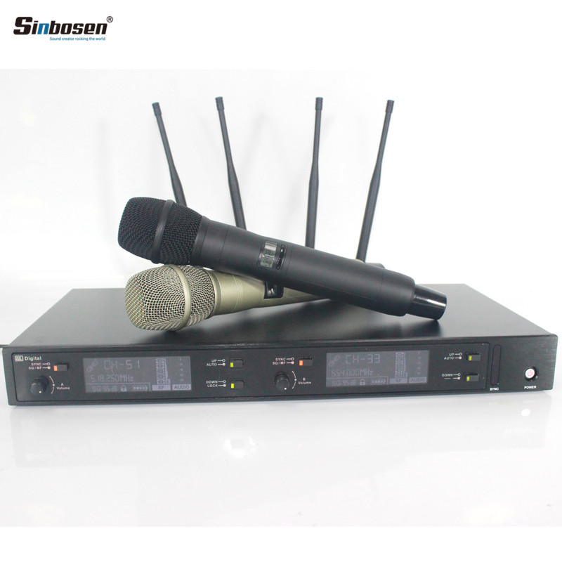 UHF true diversity digital wireless microphone AXT 220D