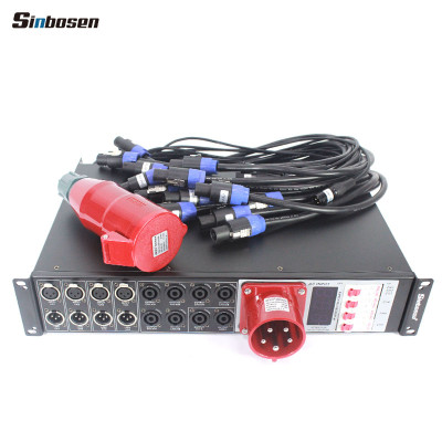Professional Power distribution box Speakers stage Power supply