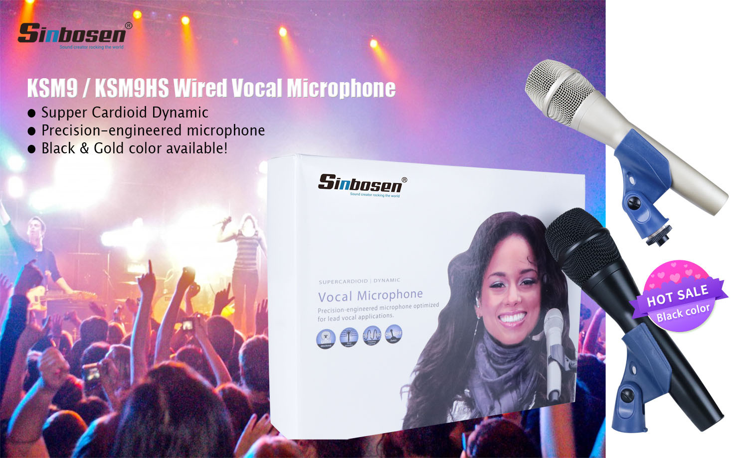Send an inquiry about KSM9 microphone